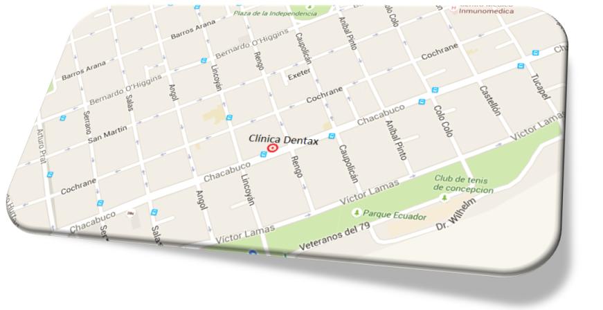 mapa dentax